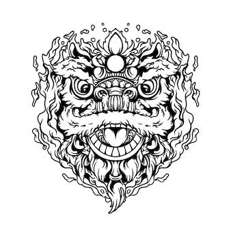 Danza del leone cinese