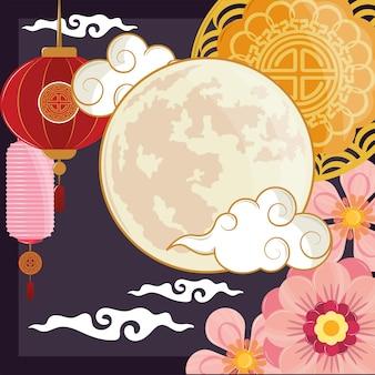 Fiori di luna cinesi