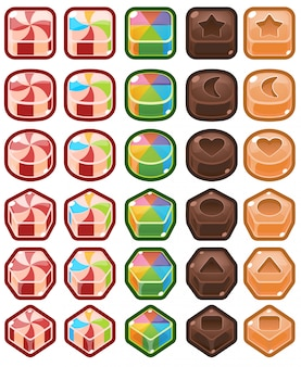 Caramella cioccolata tre