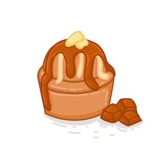Torta al cioccolato con pudding