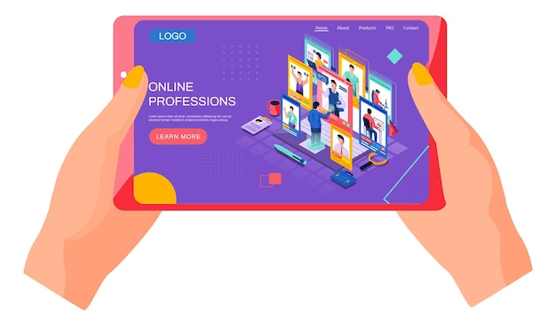 Scegliere un'illustrazione di professione futura