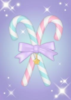 Clipart di natale candycane