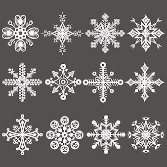 Fiocchi di neve di natale lavagna