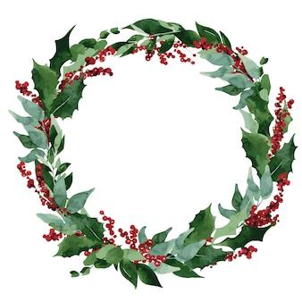 Composizione natalizia con abete rosso