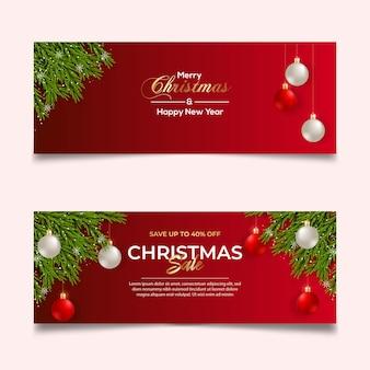 Natale copertina vendita foto colore rosso concept