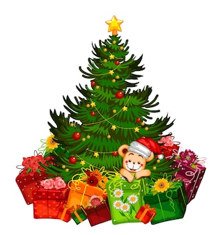Regalo di natale regalo di natale albero di natale