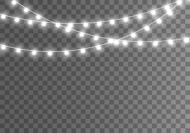 Ghirlanda luminosa di natale lampada al neon a led
