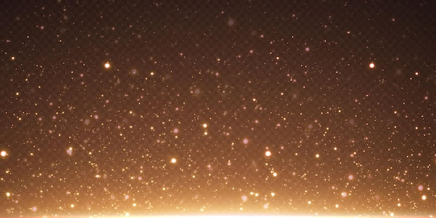 Le stelle dei coriandoli d'oro di natale stanno cadendo