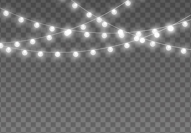 Ghirlanda luminosa di luci di natale