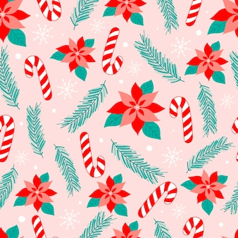 Natale seamless pattern design