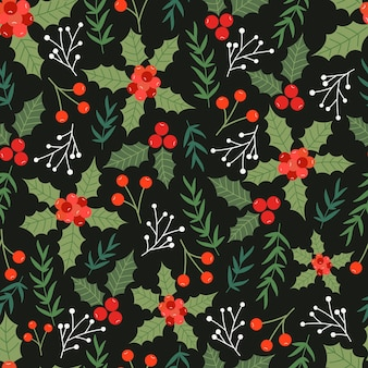 Natale seamless pattern design