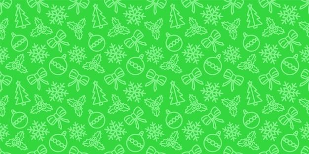 Natale seamless pattern. ornamento di carta da regalo per le vacanze.