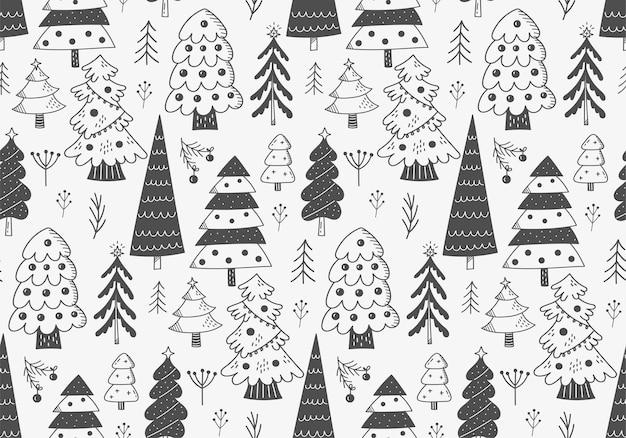 Natale seamless pattern