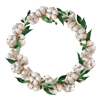 Cornice floreale a tema natalizio