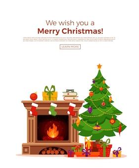 Illustrazione a tema natalizio