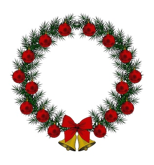 Una ghirlanda natalizia perfetta per la decorazione natalizia