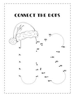 Natalealphabetdottodottrina e disegni da colorare