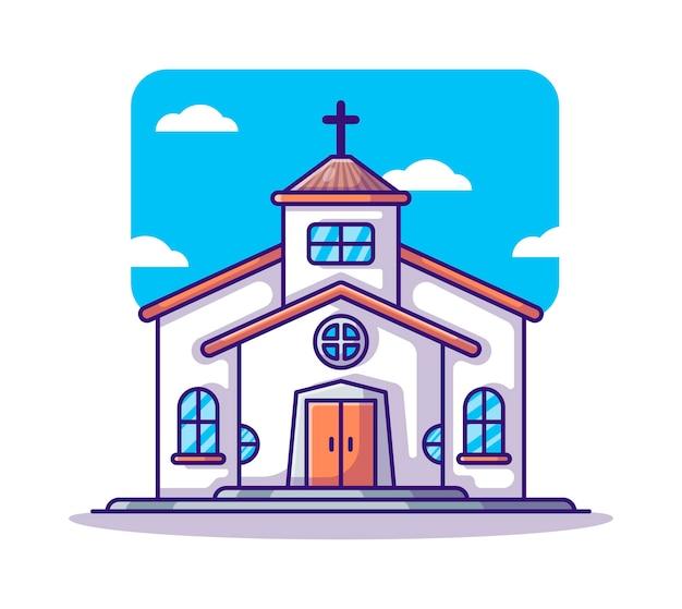 Cartone animato chiesa