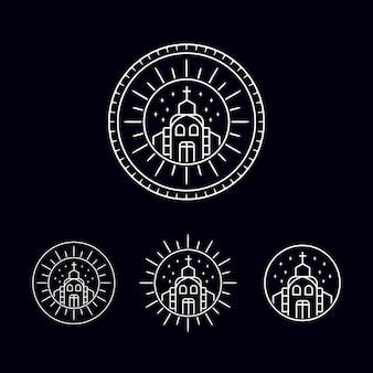 Confezione logo chiesa