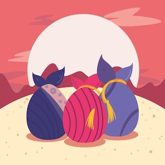 Chuseok presenta e luna