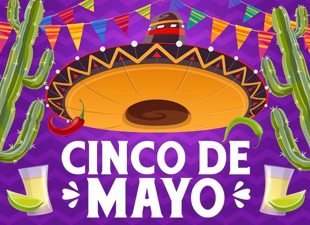 Poster del cinco de mayo