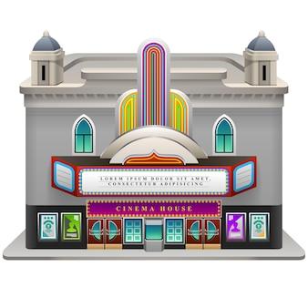 Casa del cinema.