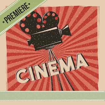 Poster cinematografico in anteprima