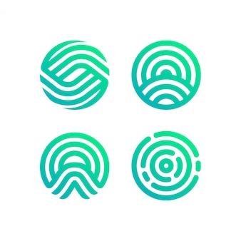 Collezione logo circle