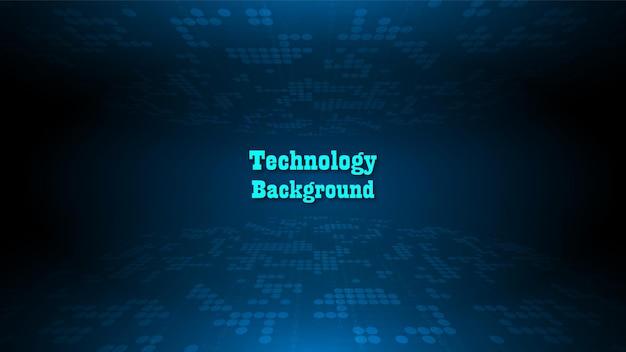 Sfondo di tecnologia del circuito