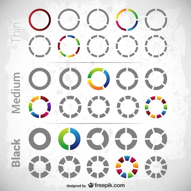 Diagrammi circolari confezione