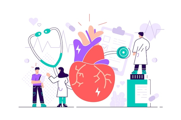 Illustrazione di complicazioni del sistema circolatorio