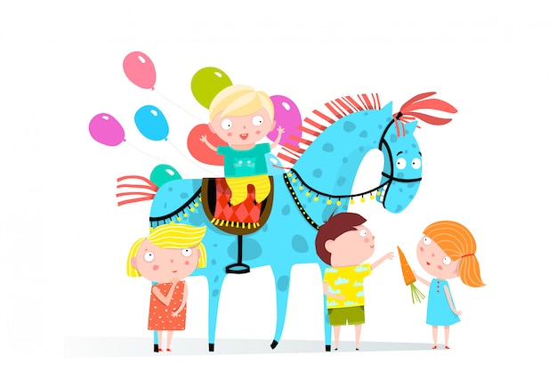 Vacanze al circo a cavallo e per bambini