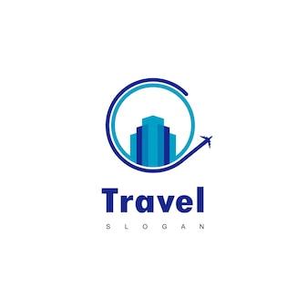 Logo di viaggio in città