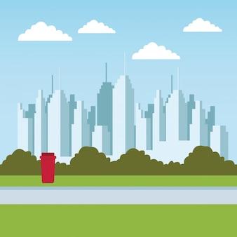 Parco urbano della città