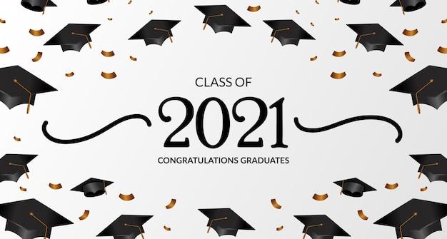 Classe del 2021. congratulazioni di laurea
