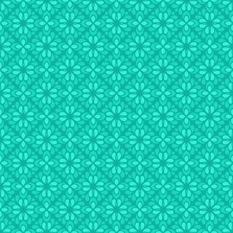 Fondo senza cuciture classico batik. carta da parati geometrica di lusso. elegante motivo floreale tradizionale in tosca