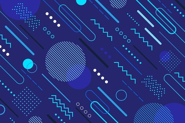 Stile classico sfondo blu astratto