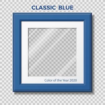 Blu classico. pantone del colore dell'anno.