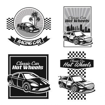 Icona di auto d'epoca