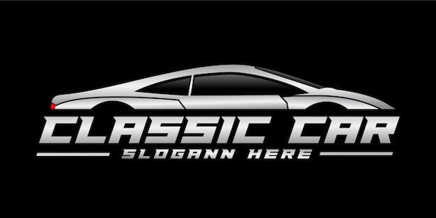 Design del logo di un'auto classica