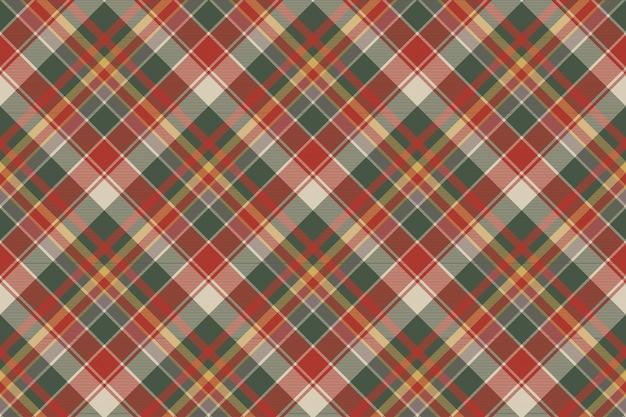 Trama di tessuto classico scozzese check senza soluzione di continuità