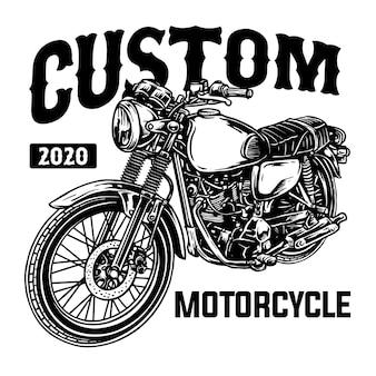 Distintivo di motocicletta personalizzato classico