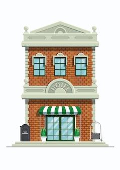 Edificio classico dell'hotel