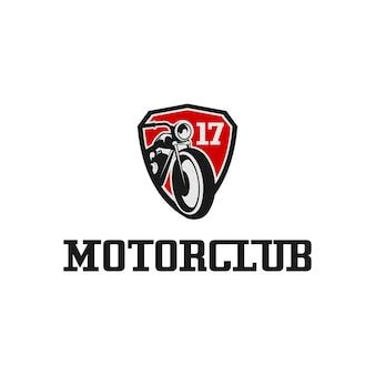 Logo classico del motociclo