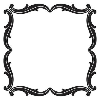 Barocco classico di elemento vintage per il design. calligrafia a filigrana elemento decorativo di design.