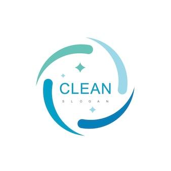 Modello di progettazione del logo pulito