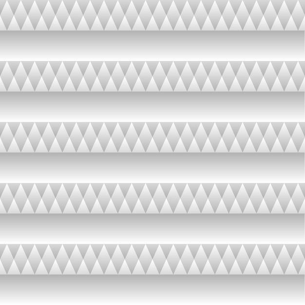 Pulisca la struttura lineare dei quadrati con il reticolo geometrico senza giunte di vettore dell'ombra