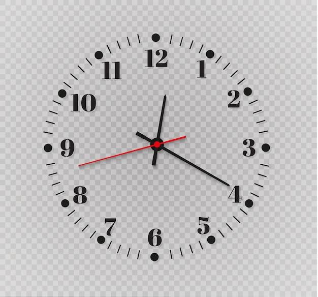 Illustrazione del timer dell'orologio