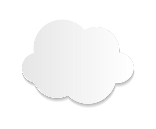Illustrazione di vettore di concetto di affari di cloud computing