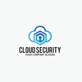 Logo di sicurezza cloud